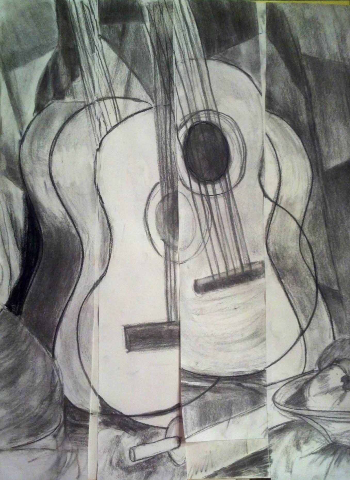 Cubism Art Drawing